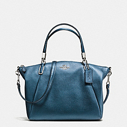 COACH F34493 Small Kelsey Satchel In Pebble Leather SVBL9