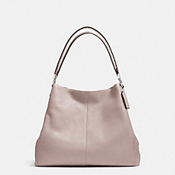 COACH F34495 - MADISON LEATHER SMALL PHOEBE SHOULDER BAG SILVER/GREY BIRCH