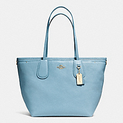 COACH F34522 - COACH TAXI BABY BAG TOTE IN CROSSGRAIN LEATHER LICMB