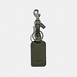 LUGGAGE TAG - F34586QBJUN - JUNIPER/BLACK ANTIQUE NICKEL