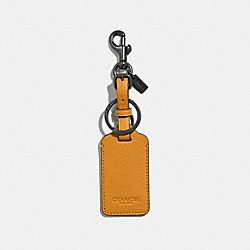 COACH F34586 Luggage Tag MARIGOLD