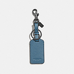 COACH F34586 - LUGGAGE TAG SOFT BLUE