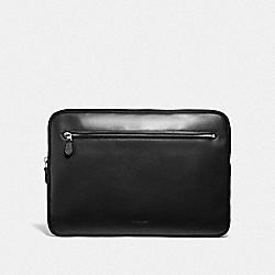 COACH F34590 Laptop Case BLACK
