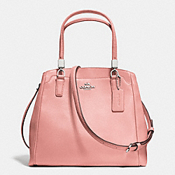 COACH F34663 Minetta Crossbody In Leather SILVER/BLUSH