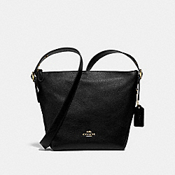 DANNY DUFFLE - f34767 - BLACK/light gold