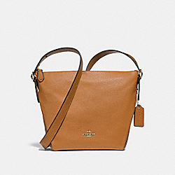 COACH F34767 - DANNY DUFFLE LIGHT SADDLE/LIGHT GOLD