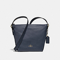 DANNY DUFFLE - f34767 - MIDNIGHT/light gold