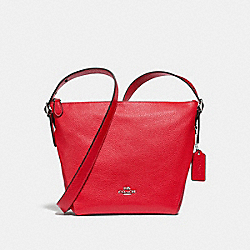 DANNY DUFFLE - f34767 - BRIGHT RED/SILVER