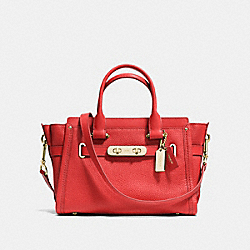 COACH SWAGGER 27 - f34816 - CARMINE/LIGHT GOLD