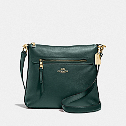 COACH F34823 Mae File Crossbody IM/EVERGREEN