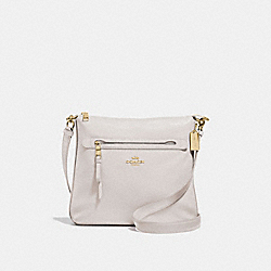 MAE CROSSBODY - F34823 - CHALK/IMITATION GOLD