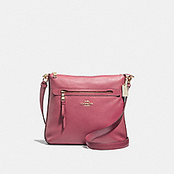 MAE CROSSBODY - F34823 - STRAWBERRY/IMITATION GOLD