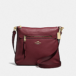 COACH F34823 - MAE FILE CROSSBODY IM/WINE