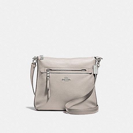 COACH F34823 MAE CROSSBODY GREY-BIRCH/SILVER