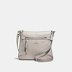 MAE CROSSBODY - F34823 - GREY BIRCH/SILVER