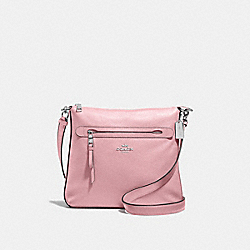 MAE CROSSBODY - F34823 - CARNATION/SILVER