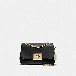 CASSIDY CROSSBODY - F34828 - BLACK/LIGHT GOLD