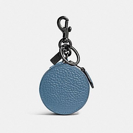 COACH F34869 MINI ZIP CASE SOFT BLUE