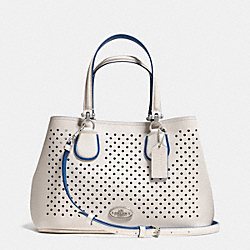 COACH F34971 - SMALL KITT CARRYALL IN PERFORATED LEATHER  SVDUV