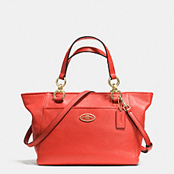 COACH F35030 - MINI ELLIS TOTE IN PEBBLE LEATHER LIWM3