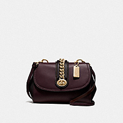 COACH F35114 Faye Crossbody OXBLOOD 1/LIGHT GOLD