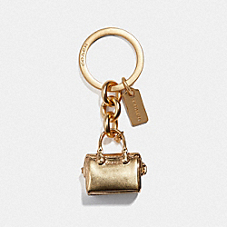 COACH F35134 Bennett Bag Charm GOLD/GOLD