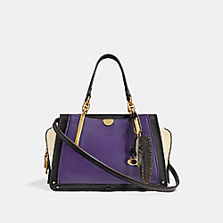 COACH F35241 - DREAMER IN COLORBLOCK PURPLE/MULTI/BRASS