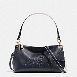 COACH F35298 Charley Crossbody In Colorblock Pebble Leather LIBGE