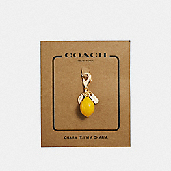 COACH F35468 - LEMON CHARM GOLD