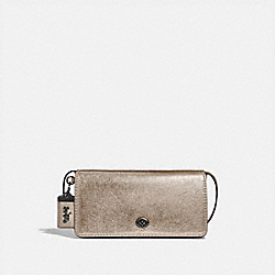 COACH F35521 - DINKY PLATINUM/PEWTER