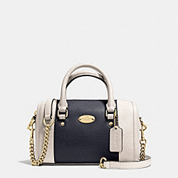 COACH F35533 Baby Bennett Satchel  LIGHT GOLD/MIDNIGHT/CHALK
