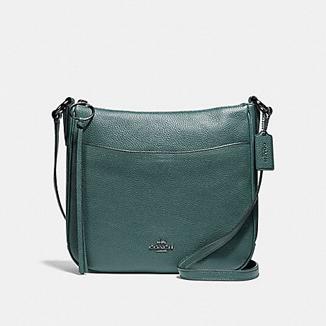 COACH F35543 CHAISE CROSSBODY GM/DARK-TURQUOISE