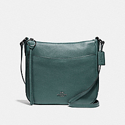COACH F35543 - CHAISE CROSSBODY GM/DARK TURQUOISE