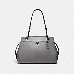 COACH F35575 - PARKER CARRYALL GM/HEATHER GREY