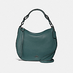 SUTTON HOBO - F35593 - GM/DARK TURQUOISE