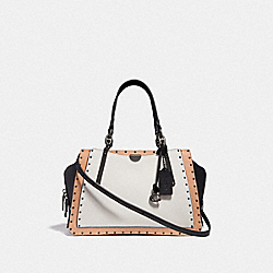 COACH F35605 - DREAMER WITH RIVETS BP/CHALK MULTI