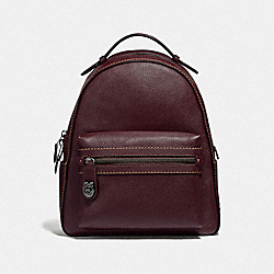 COACH F35608 Campus Backpack DK/OXBLOOD