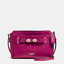 COACH F35688 - BLAKE CROSSBODY IN BUBBLE LEATHER IMCBY