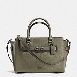 COACH F35689 - BLAKE CARRYALL IN BUBBLE LEATHER QBB75