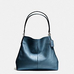 COACH F35723 Phoebe Shoulder Bag In Pebble Leather SVBL9