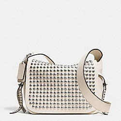 COACH F35764 - RIVETS FLAP DAKOTAH CROSSBODY IN LEATHER WRCRM