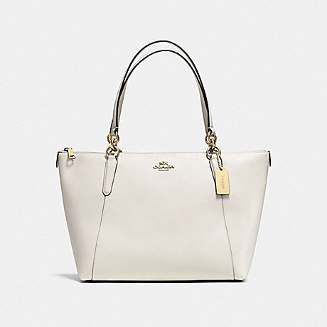 COACH F35808 AVA TOTE CHALK/GOLD