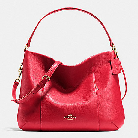 c5084c5412ed COACH EAST WEST ISABELLE SHOULDER BAG IN PEBBLE LEATHER - IME8B - f35809