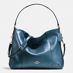 COACH F35809 East/west Isabelle Shoulder Bag In Pebble Leather SVBL9