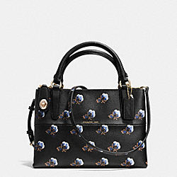 COACH F35894 Mini Borough Bag In Bramble Rose Print Coated Canvas IME2C