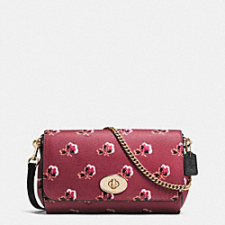 COACH F35909 - MINI RUBY CROSSBODY IN BRAMBLE ROSE COATED CANVAS IMBYM