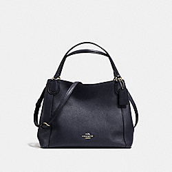 COACH F35983 Edie Shoulder Bag 28 NAVY/LIGHT GOLD