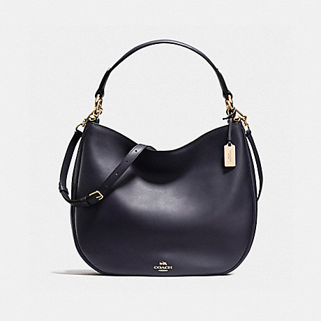 COACH f36026 MAE HOBO LIGHT GOLD/NAVY