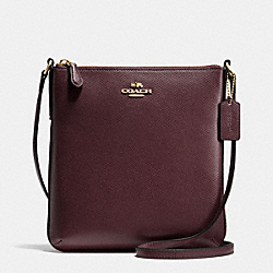 COACH F36063 - NORTH/SOUTH CROSSBODY IN CROSSGRAIN LEATHER IMOXB