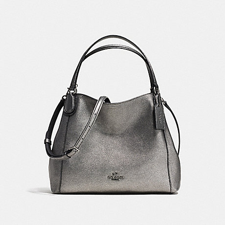 COACH f36101 EDIE SHOULDER BAG 28 ANTIQUE NICKEL/GUNMETAL